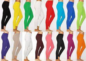different colorways of the same leggings