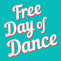 free day of dance promo graphic