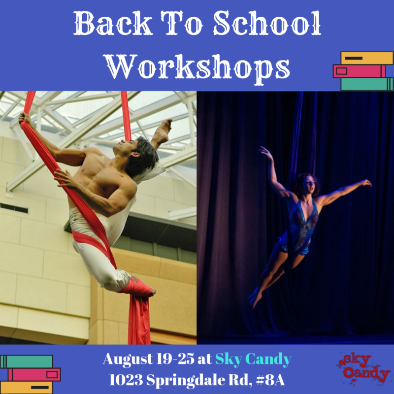 back to school workshops teaser graphic