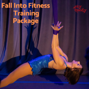 fall into fitness training package graphic