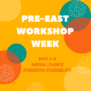 workshop week promo graphic