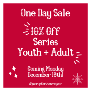 one day series sale graphic